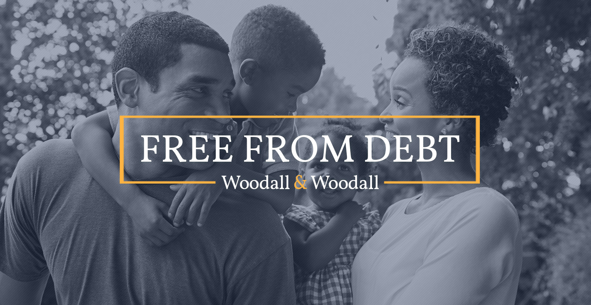 Woodall & Woodall offers debt relief services